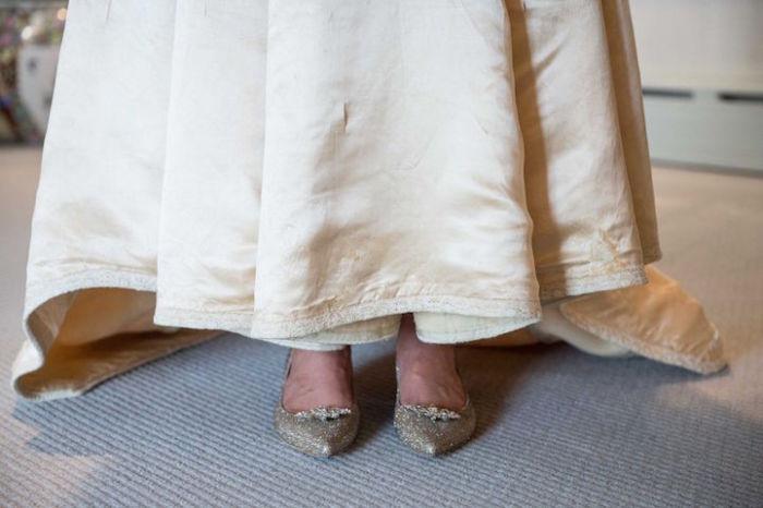 Вторая жизнь (или одиннадцатый вздох) свадебного платья.