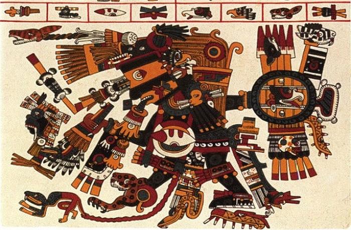 Богов-мужчин у ацтеков было больше.