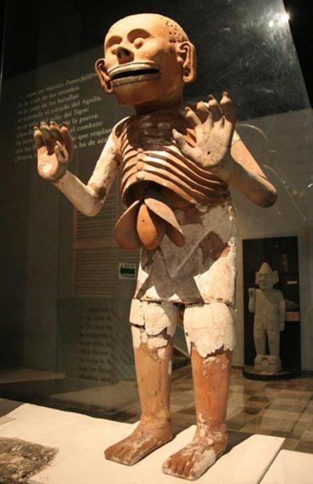Шипе-Тотек - один из самых кровожадных ацтекских богов.