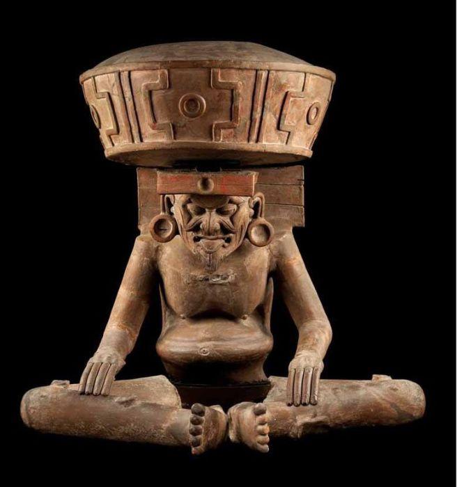 Верховный Бог ацтеков.