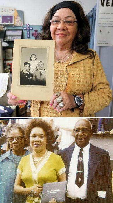 Женщина, которая узнала, что она не была чернокожей, через 70 лет после удочерения.