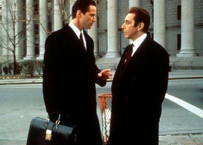 Кадр из фильма «Адвокат дьявола»./ Фото: ntesla.net