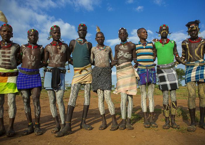 Африканский стиль.