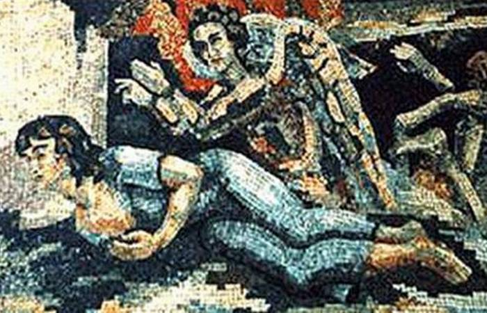 Б.В.Анреп. Сострадание. Мозаика./фото: liveinternet.ru