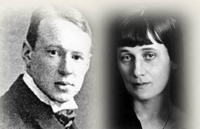 Анна Ахматова и Борис Анреп./фото: www.vl.ru