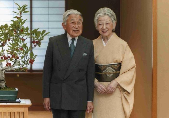 Японская императорская чета.