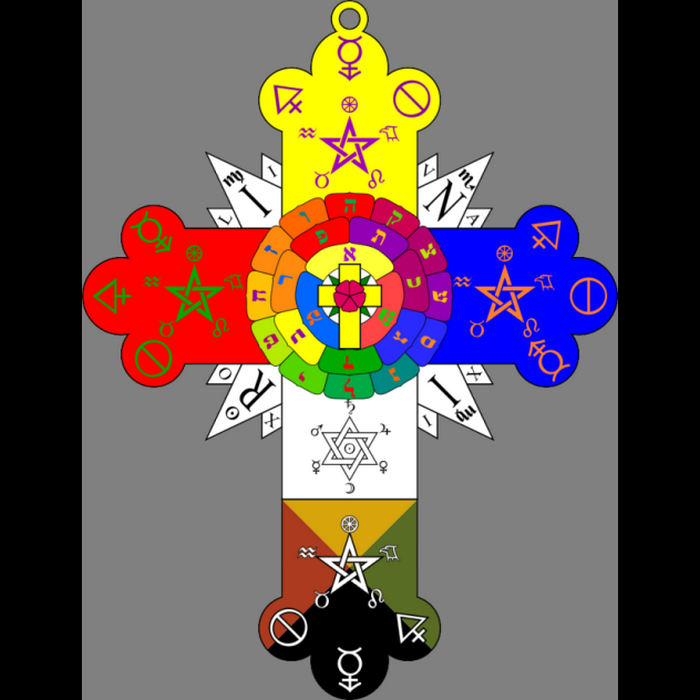 Симфол организации «Герметический Орден Золотой Зари».