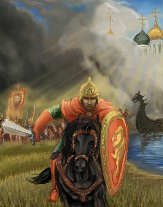 Князь Александр Невский./ Фото: chgiki.ru