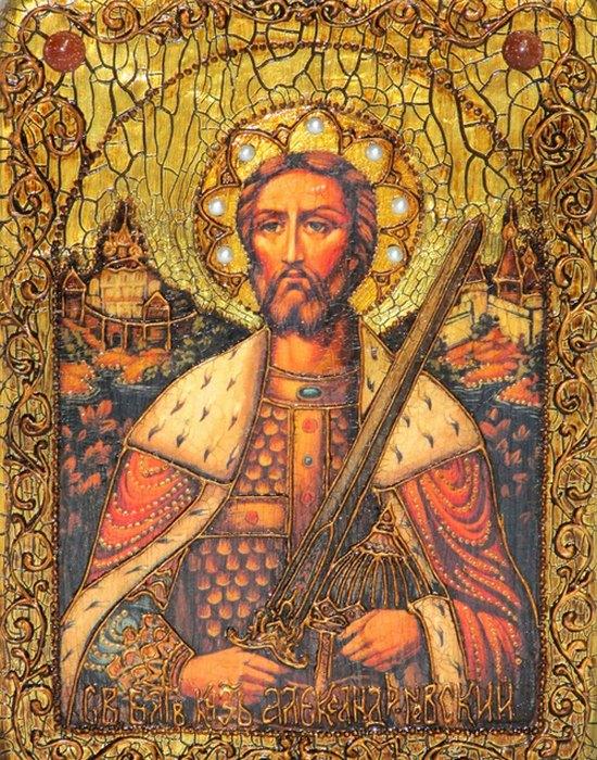 Икона Святого Благоверного Князя Александра Невского./ Фото: rovertime.ru