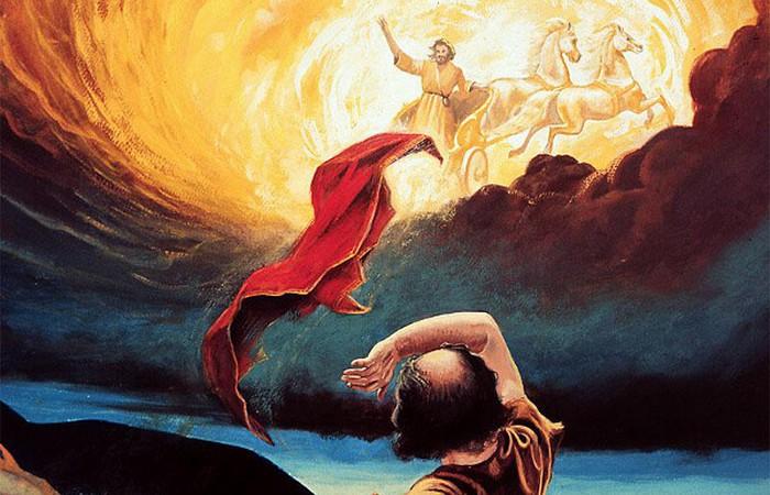 Вознесение Илии - описание похищения инопланетянами?