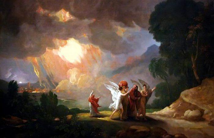 Содом и Гоморра - атомные взрывы?