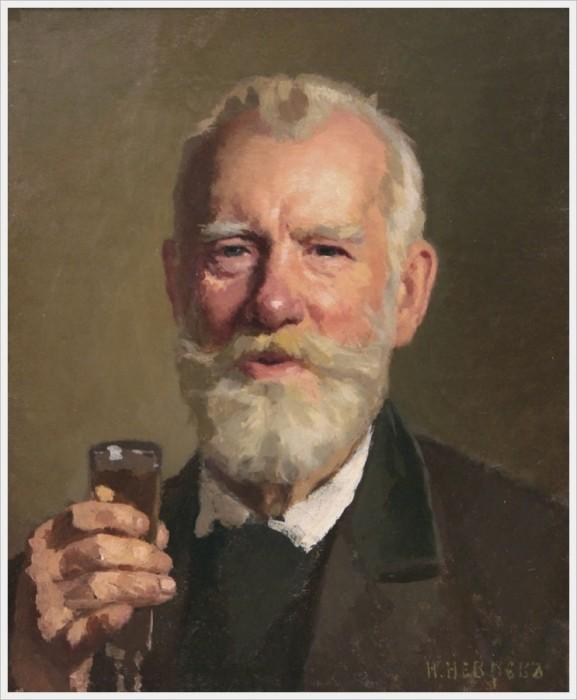 Неврев Николай Васильевич (Россия, 1830-1904) «Ваше здоровье!»