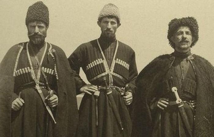 Русские казаки.