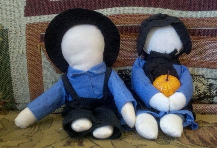 Куклы без лица.