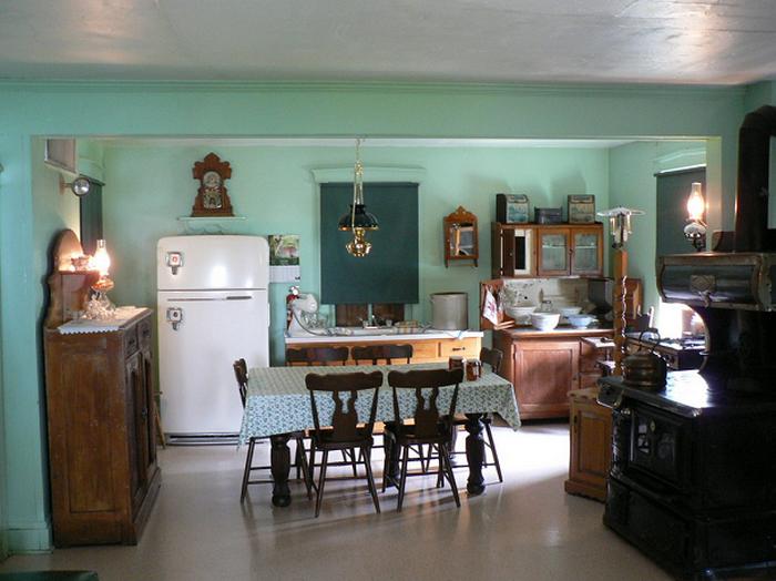 Традиционная кухня амишей.