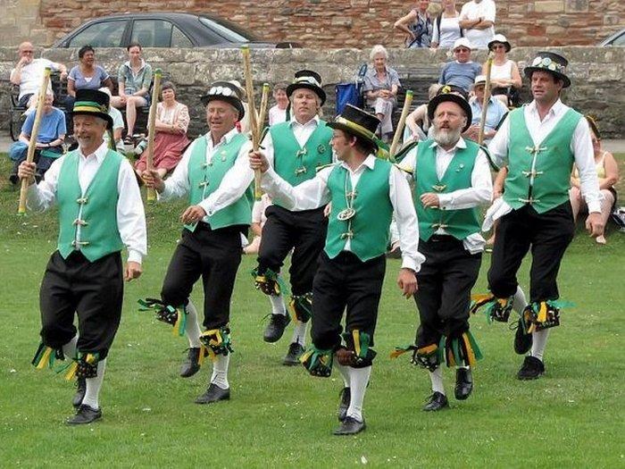Кельтский танец плодородия.