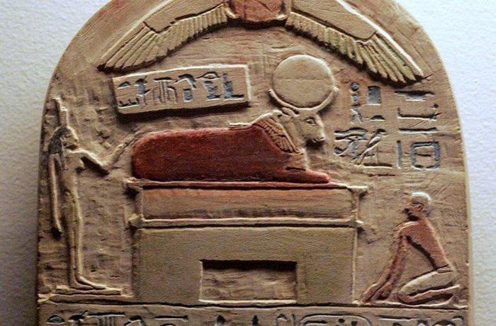 Древний Египет: гарем священного быка.