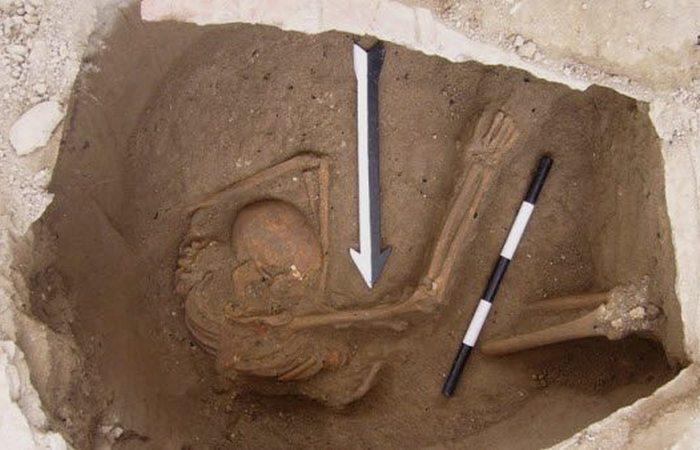 Захоронения ханаанцев в Ливане.