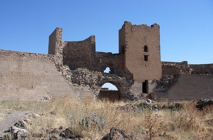 Руины Ани.