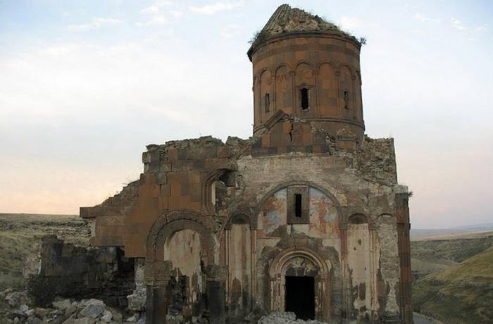 Руины церкви Святого Григория.
