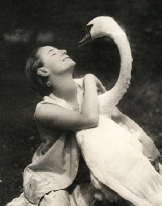 Балерина Анна Павлова.