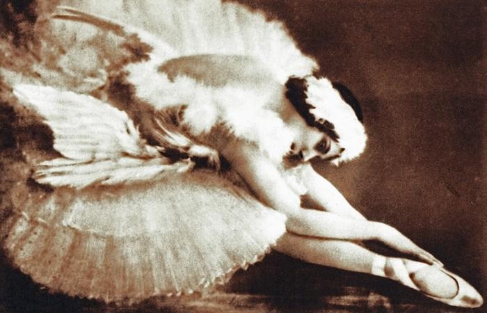 Умирающий лебедь Анны Павловой.