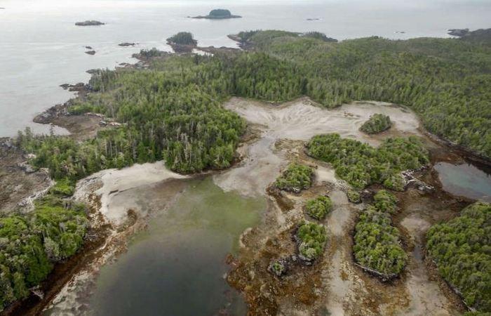 Древнее поселение, найденное в Канаде.