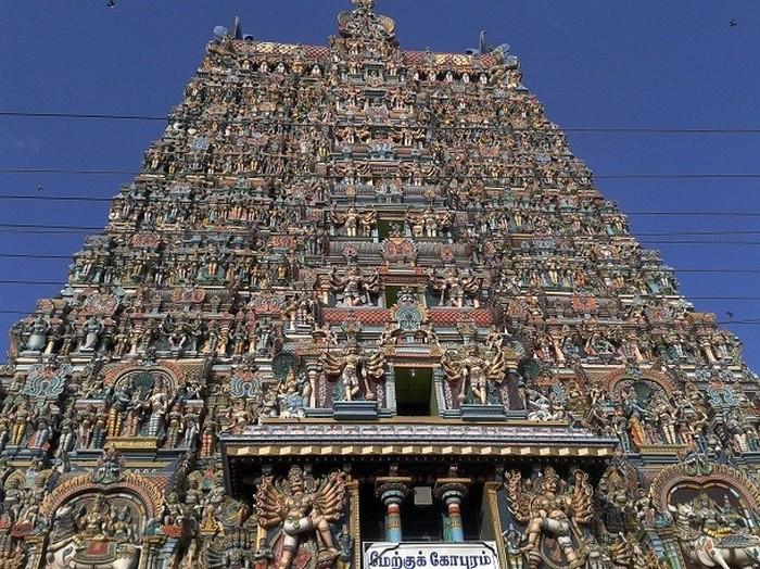 Храм Минакши, Индия.