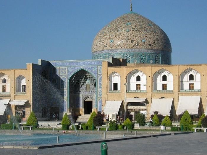 Мечеть шейха Лютфуллы, Иран.