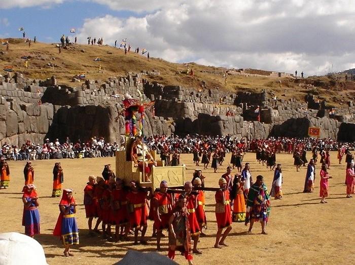 Саксайуаман, Перу.