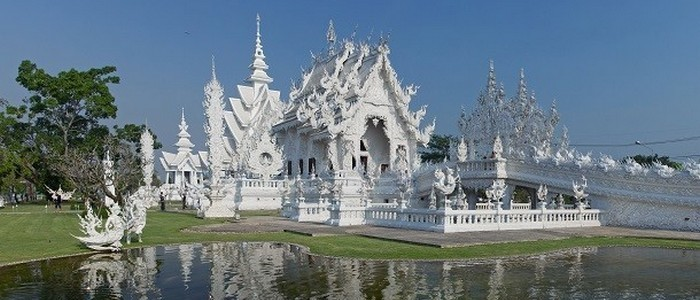 Ват Ронг Кхун, Таиланд.