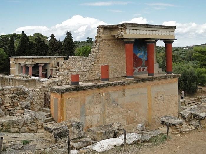 Кносс, Греция.