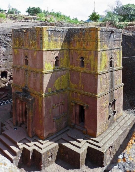 Подземные храмы Лалибела, Эфиопия.