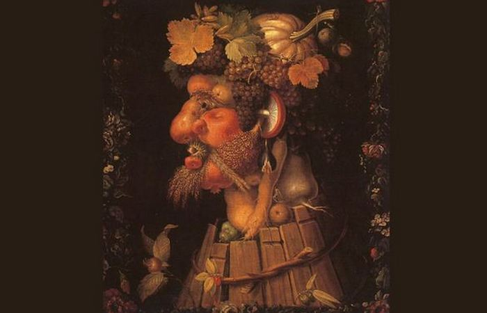 Арчимбольдо был мастером капричозы и анекдотов.