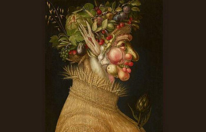 Его картины изобилуют намеками и визуальными каламбурами.