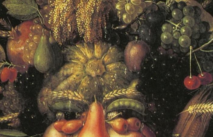 Создавал Голову из корзины с фруктами художник методом проб и ошибок.