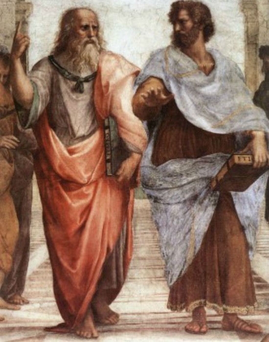 Аристотель - любимый ученик Платона. / Фото:list25.com