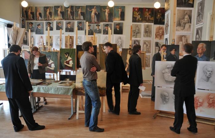 Российская академия живописи. Факультет реставрации живописи. фото: pictures11.ru