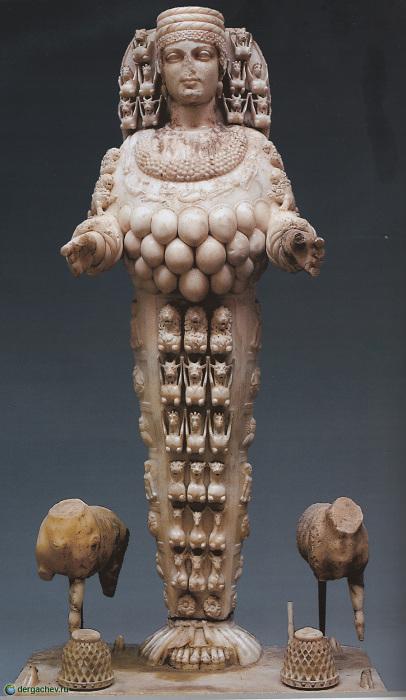 Богиня плодородия Артемида.