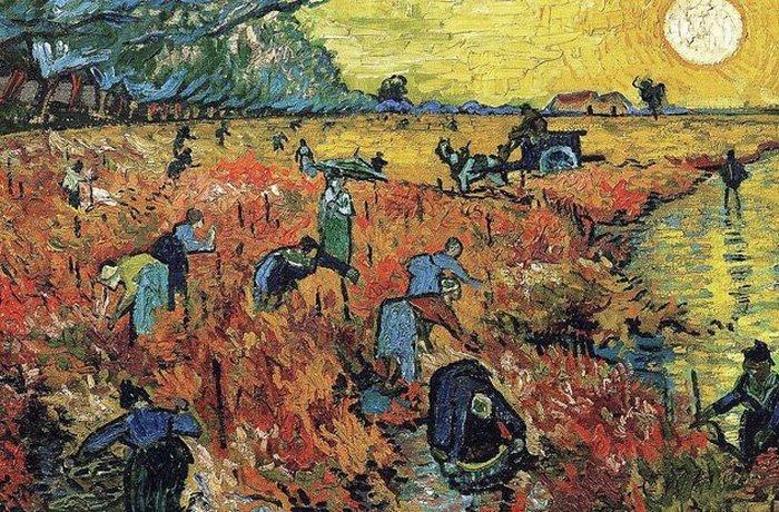 Винсент Ван Гог и оттенки красного./фото: listverse.com
