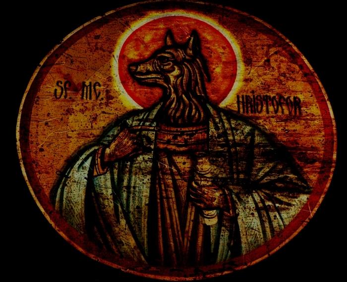 Святой Христофор./фото: tattoodonkey.com