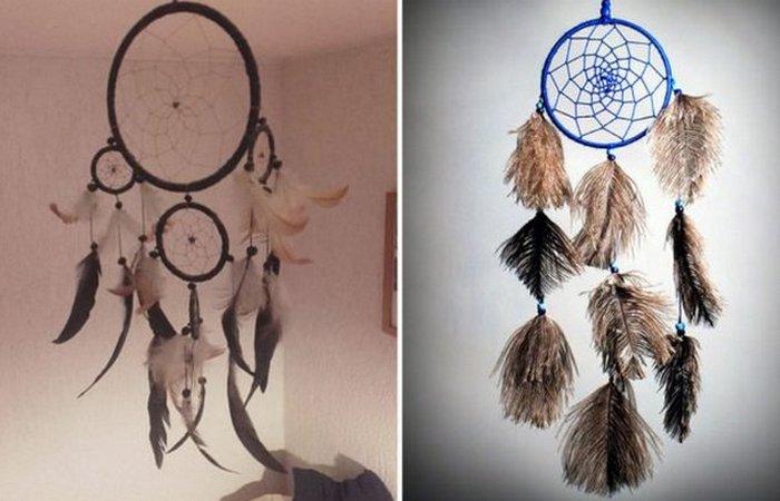 Ловец снов племени оджибва. / Фото: thevintagenews.com