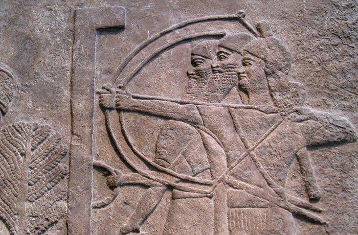 Ассирийская армия: вечная война./фото: listverse.com
