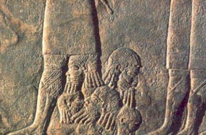 Ассирийская армия: жизнь рабов./фото: listverse.com