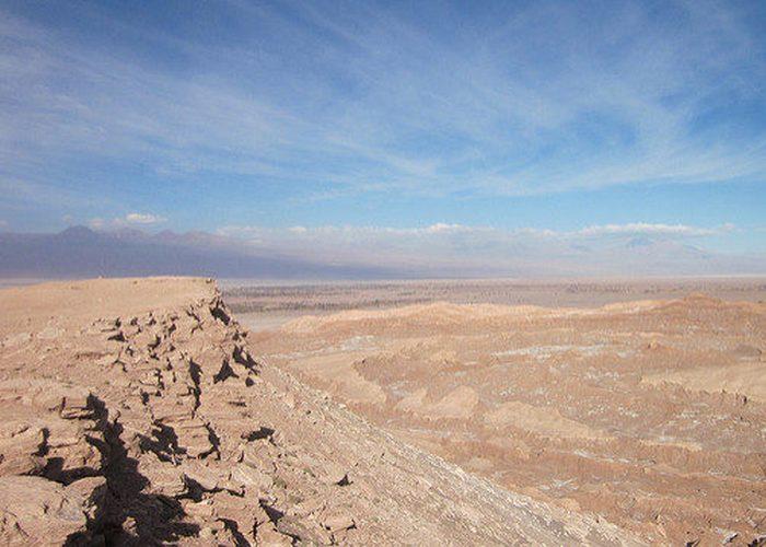 Дюны и скалы «Долины Смерти».