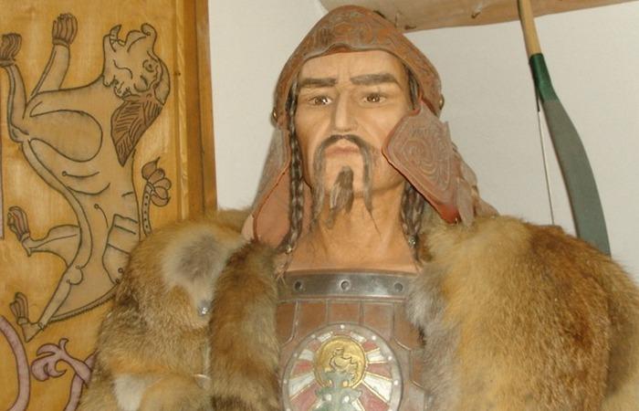 Вождь гуннов Аттила. Восковая скульптура. / Фото: newscom.md