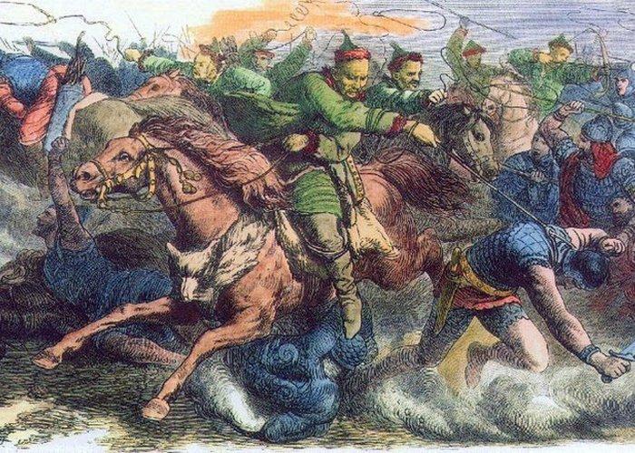 Гунны в бою с аланами. / Фото: thevintagenews.com
