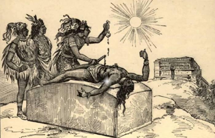 Жуткий ритуал ацтеков: людоедство. / Фото: theinfong.com