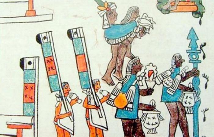 Жуткий ритуал ацтеков: жертвоприношения детей./фото: listverse.com