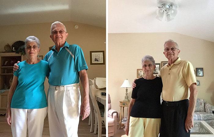 Эд и Фран Гаргьюла стали знаменитыми благодаря манере одеваться.